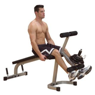 Body Solid Powerline Leg Extension Curl Machine