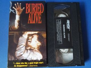 Buried Alive Tim Matheson Jennifer Jason Leigh VHS