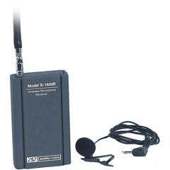 Amplivox S1600 Wireless Leapel Microphone System Kit