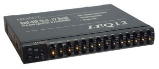 Legacy LEQ12A 12 Band Pre Amp Equalizer w Subwoofer Boost Control