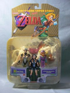 Video Game Super Stars Legend of Zelda Impa Toybiz 2001