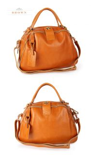 Jaunty2030 New Genuine Leather Purses Handbags Hobo Totes Shoulder Bag