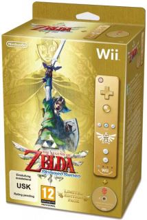 Legend of Zelda Skyward Sword Limited Edition Bundle Nintendo Wii game