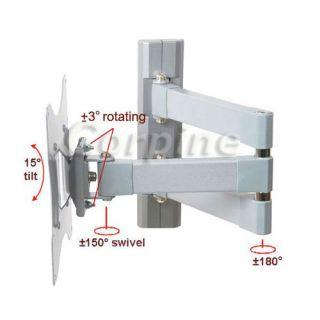 Swivel Tilt Flat Panel Screen LCD LED TV Wall Mount 22 23 24 26 32 37