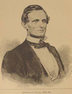 Confederae Presiden Memoirs General Lee Gran Abraham Lincoln