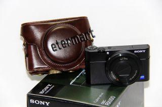 Leder Tasche Kameratasche Hülle Etui Camara Bolsa FÜR Sony RX100 RX