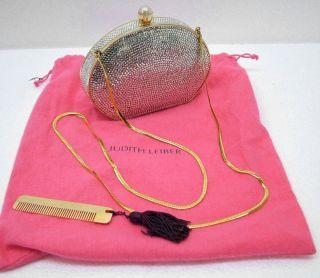 Judith Leiber Crystal Handbag Clutch Purse