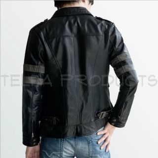 Superb Resident Evil 6 Leon Kennedys Faux Leather Jacket Men Women