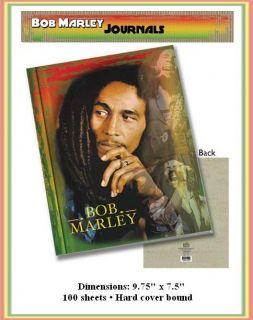 Bob Marley Legend Hard Cover Journal Notebook Book New