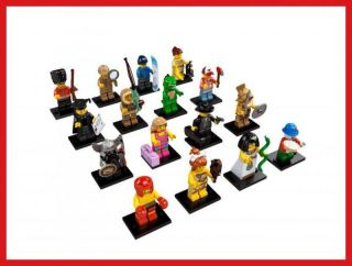 New Lego Series 5 Minifigure All Individual Figures Combined Shipping