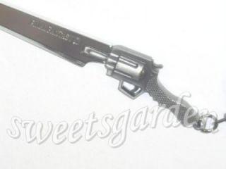 Final Fantasy Squall Leonhart Gunblade Metal Keychain Bag Dangle Charm