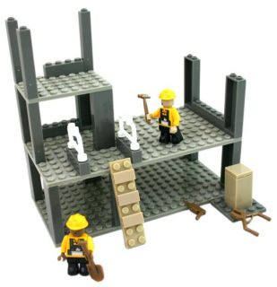 City Construction Site Bricks Compatible with Lego