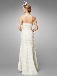 Phase Eight Alicia layered wedding dress Cream