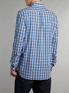 Gant Long sleeve multi gingham shirt Blue