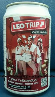 Leo Beer Can Thai Thailand Sexy Girl 2010 New Released