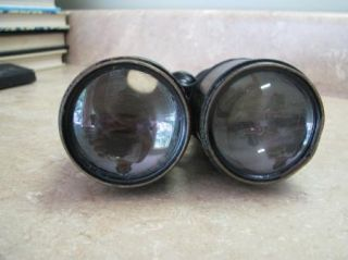 Vintage Antique Lemaire Fabt Paris Field Glasses Binoculars WWI French