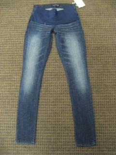 Levi Strauss Maternity Jeans Stretch Skinny 524 Dark Blue Size 3 XS