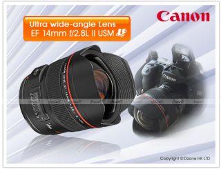 Canon EF 14mm F2 8L II USM Wide Angle Lens L416 0082966212802