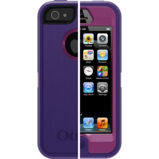 Otterbox Defender Case Belt Clip for iPhone 5 Boom Pop Purple Violet