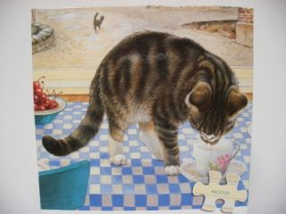 TWIGLET ON THE TABLE Jigsaw Puzzle Large300Pc Ceaco Lesley Anne Ivory