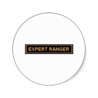 EXPERT RANGER ARMY PATCH STICKERS