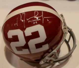 Mark Ingram Autographed Alabama Tide Helmet w Heisman