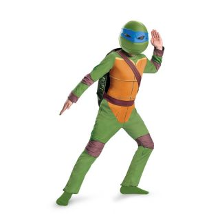 Leonardo Teenage Mutant Ninja Turtles Animated Classic Child 4 6