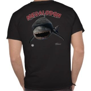 Megalodon: Largest Shark that Ever Lived T Shirts