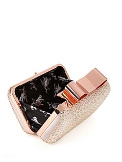 Ted Baker Glinor crystal studded clutch