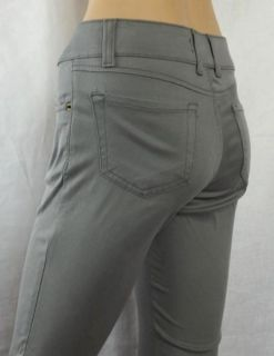 Gray Level 99 Skinny Straight Leg Low Rise Trouser Pants Jeans Size 29