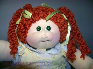 Vintage 1985 Cabbage Patch Soft Sculpture Doll Little People babyland