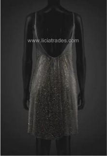 Versace for H&M Black Studded Dress NWT Limited Ed. Sold Out EU 38