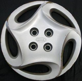 01 Kia Sephia 14 66004 Hubcap Wheel Cover Kia Part # 0K2AA37170 USED