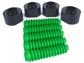 Jeep Wrangler Grand Cherokee 2 inch Lift Kit Coil Spacer 5 Lime Shock