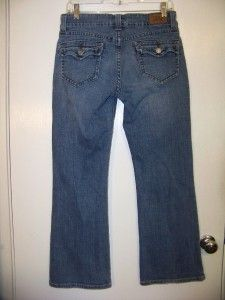 Womens 515 Levis Stretch Flare Jeans Sz 10 Petite Rear Flap Pockets