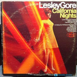 Lesley Gore California Nights LP Vinyl MG 21120 VG