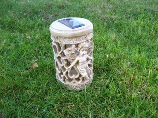 Solar Angel Garden Stake Cemetery Memorial Light