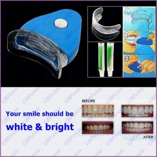 White Light Tooth Teeth Cleaner Dental Oral Care Whitening System Kit