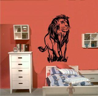 Wandtattoo Wandsticker 195 Löwe Narnia Wild Life Motiv