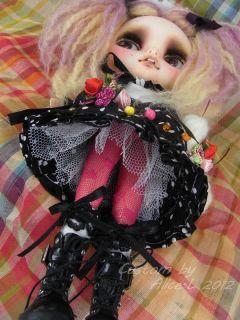 OOAK Custom Takara Blythe Art Doll by Alice Leung