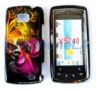Hard Phone Case Cover Fi LG Ally VS740 2D Buerfly