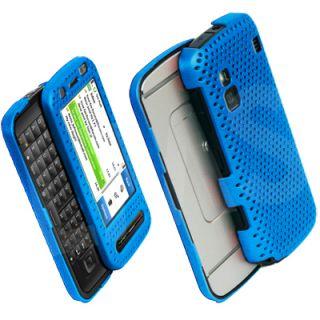 Light Blue Hard Mesh Case Cover Skin for Nokia C6