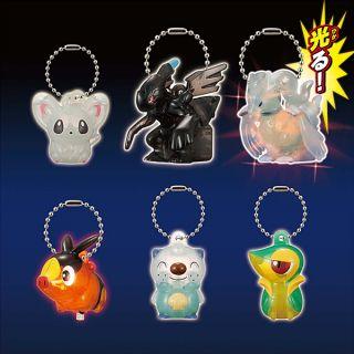 Pokemon Best Wishes Night Glow LED Light Up Snivy