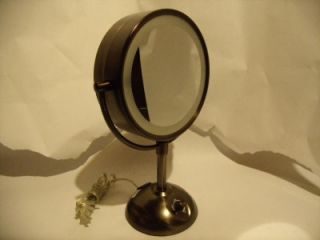 Conair BE103BRD Lighted Magnifying Two Sided Makeup Mirror Nice