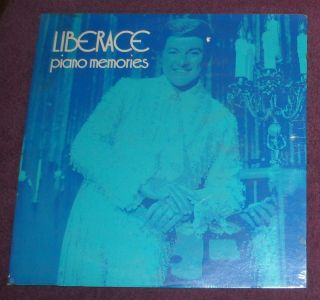 SEALED Liberace Piano Memories LP Easy Listening