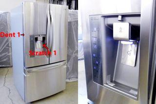 LG LFX31925ST 31 CU ft Stainless Steel 3 Door French Door Refrigerator