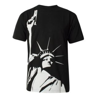 Akomplice Statue of Liberty Gun T Shirt Sold Out Everywhere New York