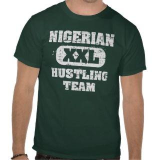 Nigerian hustling team t shirts