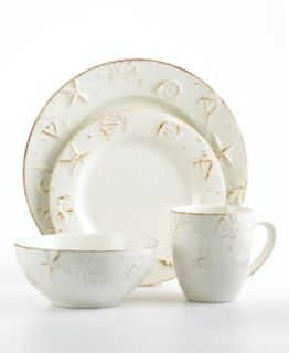 Thomson Pottery Dinnerware, Maison 16 Piece Set Fine China Dining