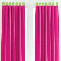 12P Queen Comforter Pink Lime Green Val Drapes Girl New